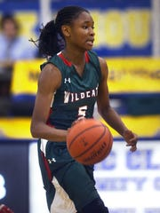Jordan Hankins helped lead Lawrence North to back-to-back MIC titles. She was found dead in her Northwestern dorm room in January of 2017.