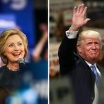 Clinton and Trump meet for the third presidential debate