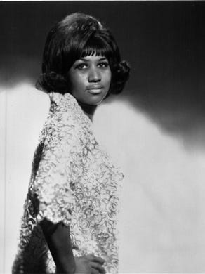 "Aretha Franklin, ""The Queen of Soul"" in 1967."