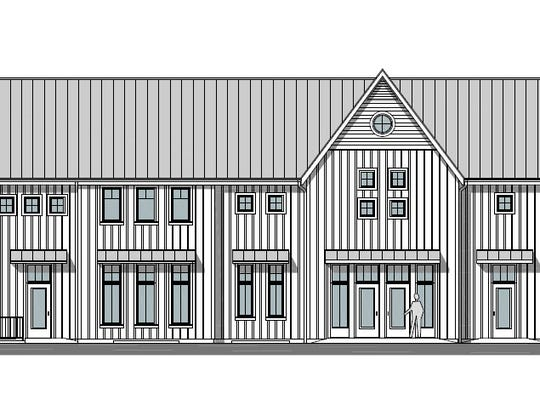 Design plans for the common house at Prairie Hill, a cohousing development planned for west Iowa City.