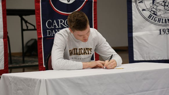 Carolina Day senior Ben Lochen has signed to play college