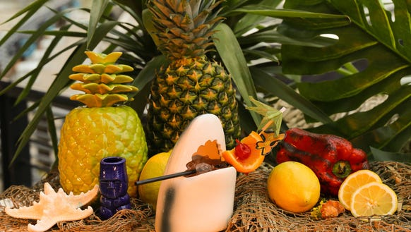 Drinks at the Love Shack will be served in tiki mugs,