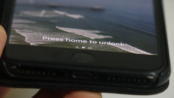 The iPhone home button