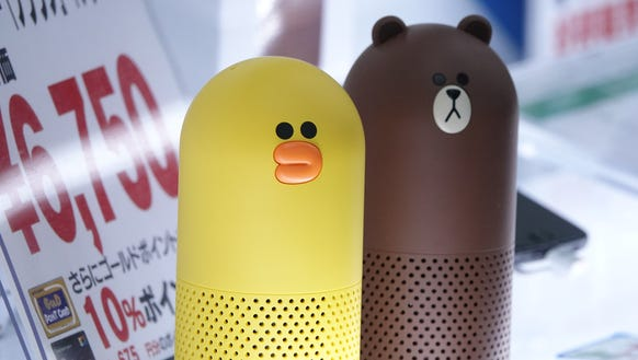 Line's Clova smart speakers come in the guise of a