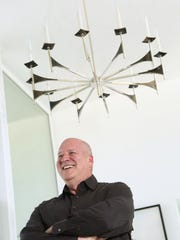 Digicom film festival founder and former Disney executive David Vogel at his home on Monday, April 27, 2015 in Palm Springs, Calif.