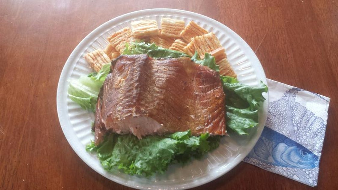 Cook the outdoors smoked fish brine salmon for Smoke fish brine