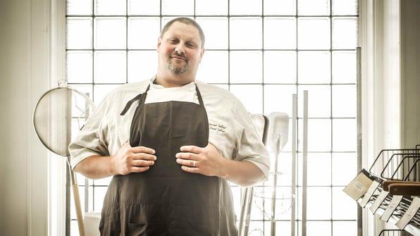 Chef David Tallent opened Restaurant Tallent in Bloomington