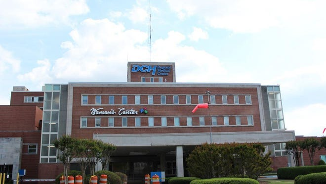 Intensive care beds at DCH Health System hosptials are filling with sick COVID-19 patients as officials urge residents to maintain social distancing and other precautions.