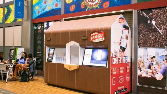 Austin-based Briggo, which sells coffee at automated, touchless kiosks, has been acquired and rebranded by Costa Coffee, a subsidiary of Coca-Cola Co.