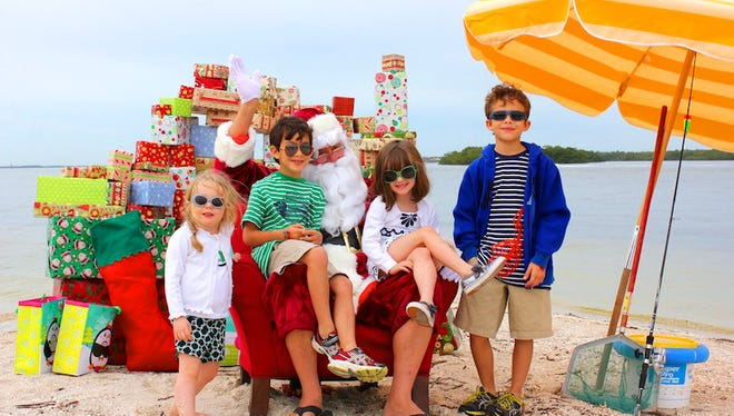 Adventures In Paradise will get you to Picnic Island to visit Santa on Christmas Eve day.