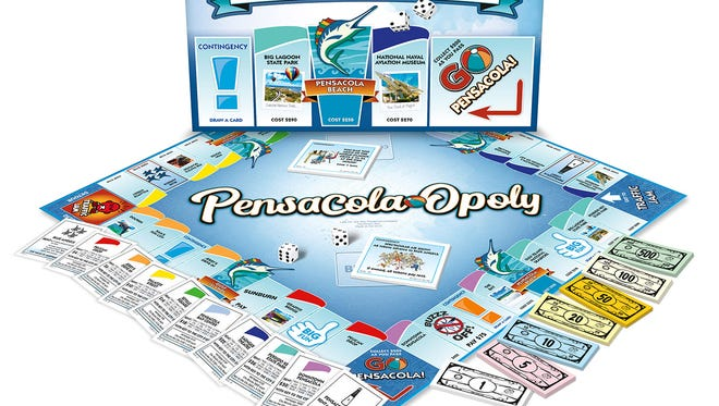 The Pensacola-Opoly board game is available exclusively at Pensacola Walmart stores for $19.98.