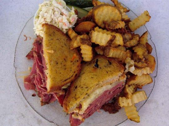 A Scottwich sandwich at Scott's Generations in Phoenix.
