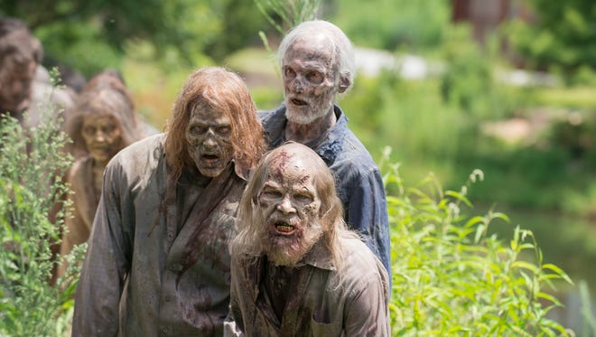 """Walkers are everywhere on AMC's """"The Walking Dead."""""""