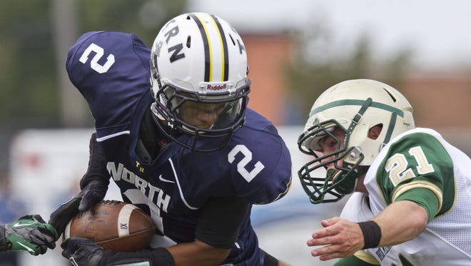 Toms River North's Bryce Watts committed to Rutgers football as a defensive back in the recruiting class of 2017.