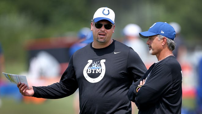 Indianapolis Colts general manage Ryan Grigson and head coach Chuck Pagano will turn to the crop of undrafted free agents for potential help.