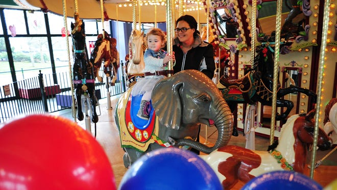 """Salem's Riverfront Carousel celebrates """"15 years of magic"""" with a party Saturday, June 4."""