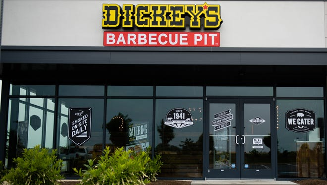 Dickey's Barbecue Pit is scheduled to open June 16. The restaurant is located on Wilson Avenue in Hanover.