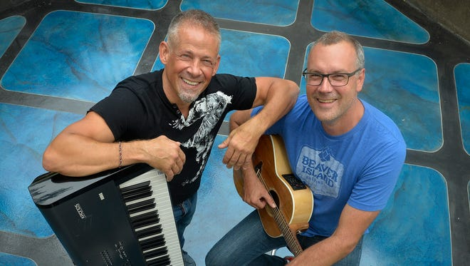 """Local music scene celebs George Maurer and Paul """"Stretch"""" Diethelm are the combo for opener of the """"Stripped Down"""" music series Sept. 11-12 at Pioneer Place on Fifth."""