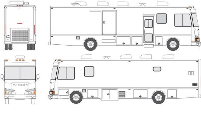A rendering of the bus AnMed had purchased in 2016 before it was built.