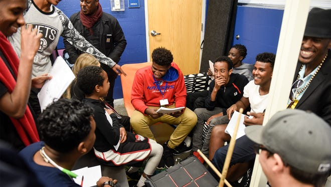 Waayaha Cusub, a Somali hip-hop collective, collaborated with kids in October of 2016 at the Southside Boys & Girls Club in St. Cloud. New Census numbers show nearly 74,000 people in Minnesota speak Somali.