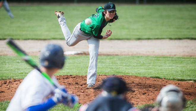 Burris and Yorktown face off at McCulloch Park Tuesday, May 2, 2017. The first two days of the Yorktown Sectional have been postponed due to rain.