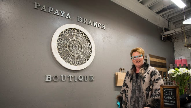 Laura Lyon recently opened Papay Branch Boutique at 326 Superior Mall in Port Huron. The store offers women's clothing in a variety of sizes.