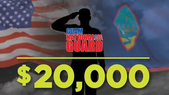 A signing bonus if offered for a limited time, the Guam Army National Guard announced on Wednesday, Jan. 17, 2018.