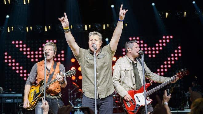 Rascal Flatts headlines the 2015 Hoedown, which is leaving Comerica Park for West Riverfront Park.