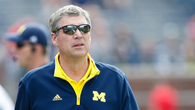 Michigan Wolverines athletic director Dave Brandon.