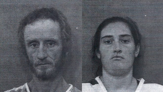 Patrick Daniels (left) and Tabitha Ansley