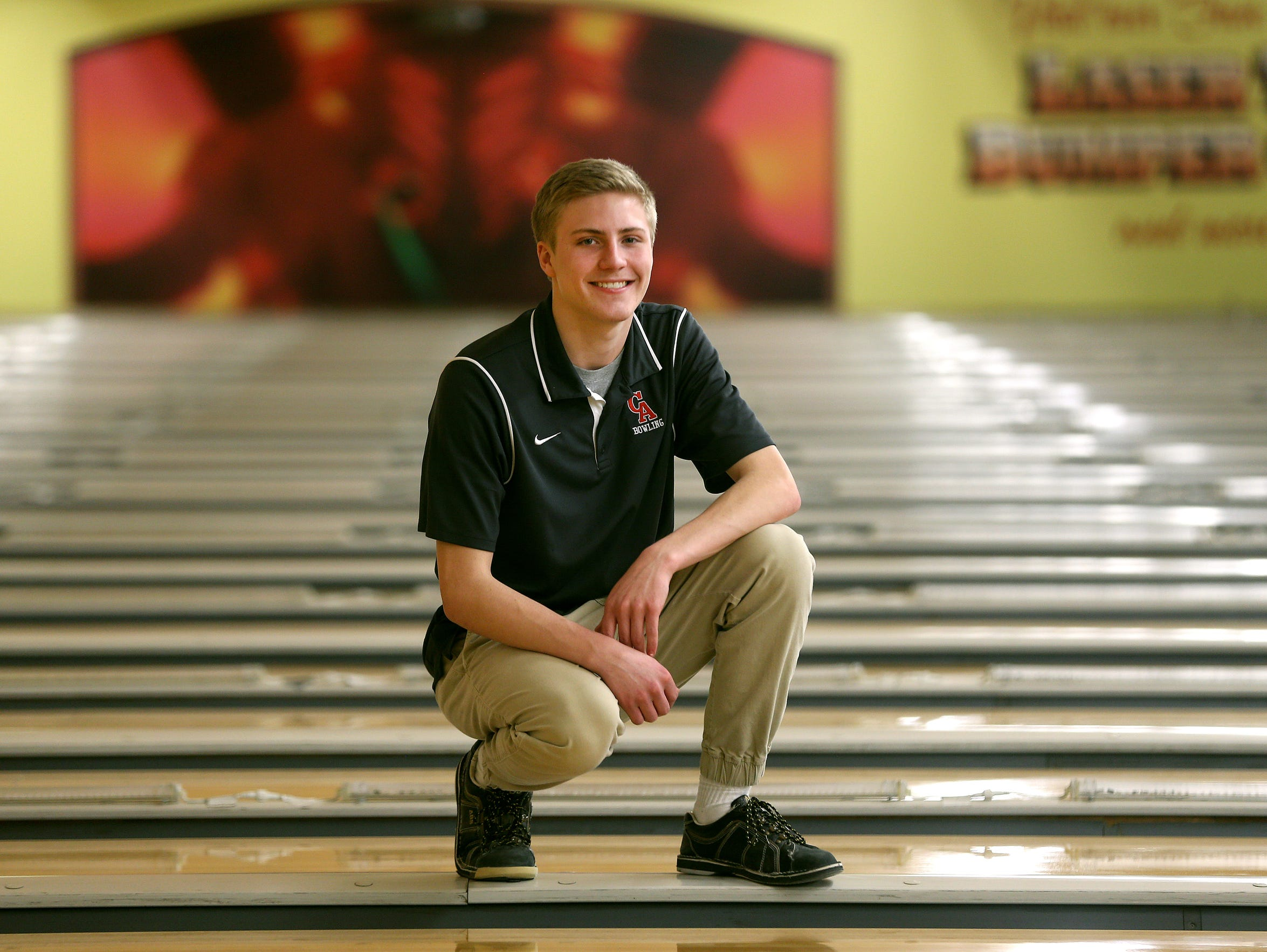 AGR Bowler of the Year, Canandaigua's Tristen Briggs.