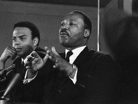 Martin Luther King Jr, Andrew Young