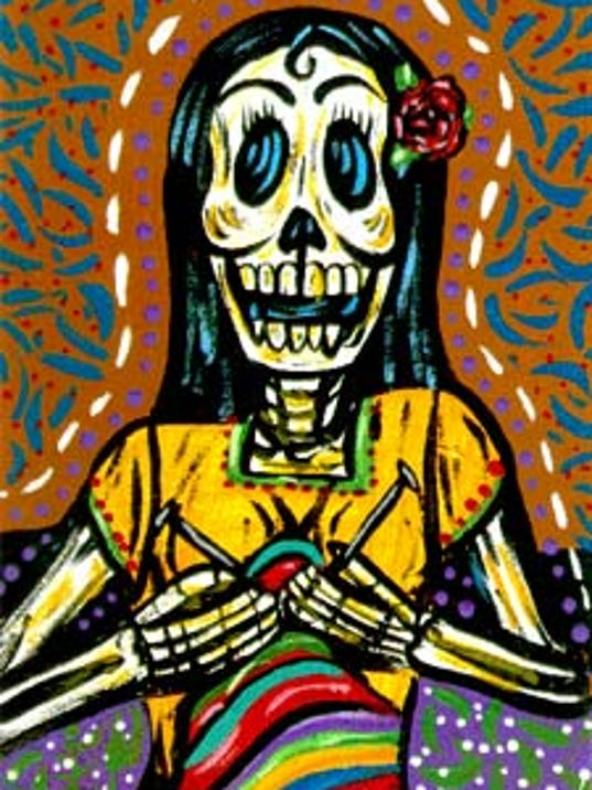Dia de los muertos is all about crafts for Day of the dead arts and crafts