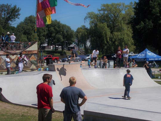 Scenes from the grand opening of the new skate park at Kiwanis Park in Sheboygan on Saturday, June 23.