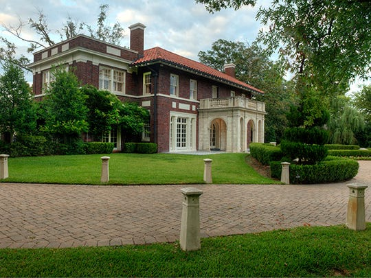 This private estate at 830 Ockley Drive is listed at