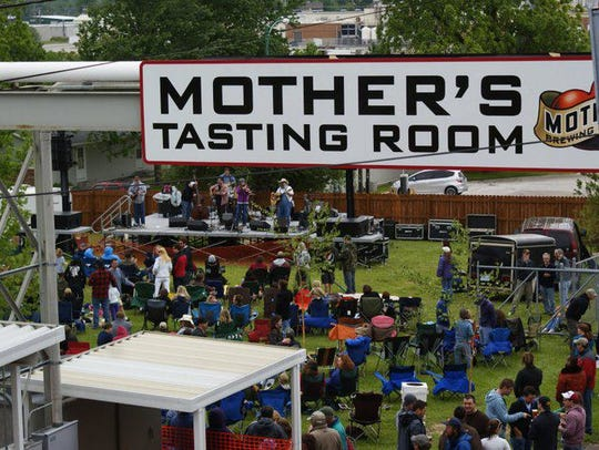 Enjoy a nice day in your own backyard, or head over to Mother's.
