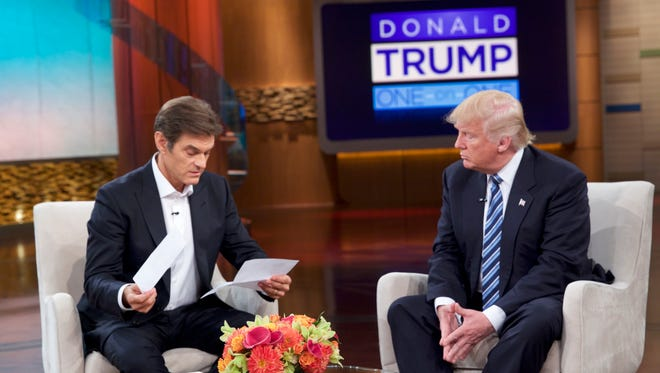Donald Trump releases a medical letter to Dr. Oz on The Dr. Oz Show which aired Sept. 15, 2016.