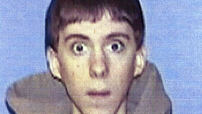 """FILE - This undated identification file photo provided Wednesday, April 3, 2013, by Western Connecticut State University in Danbury, Conn., shows former student Adam Lanza, who carried out the shooting massacre at Sandy Hook Elementary School in December 2012. Lanza's father says in his first public comments about the massacre that what his son did couldn't """"get any more evil"""" and he wishes his son hadn't been born. (AP Photo/Western Connecticut State University, File)"""