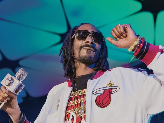 Snoop Dogg made the list with his tribute to Batman
