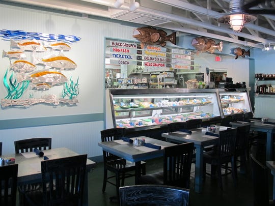 A seafood market fills a corner of Deep Lagoon Seafood & Fish Market, which recently replaced Randy's Fishmarket Restaurant at 10395 U.S. 41 N. in North Naples.