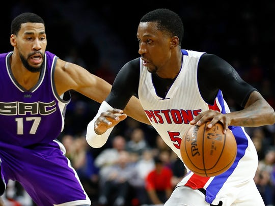 Detroit's Kentavious Caldwell-Pope has shown up in trade rumors.