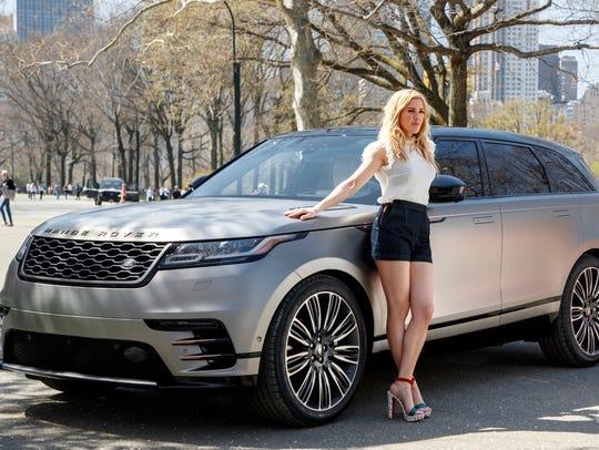 Pop artist Ellie Goulding promotes the new Land Rover