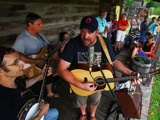 In June, July and August, you can hear live music at Cannonsburgh.