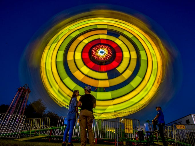 The Autauga County Fair is held in Prattville, Ala.,