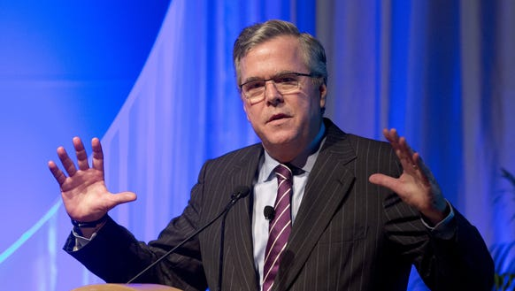 By ignoring Trump and spending some early money, Bush