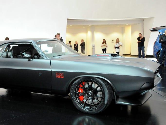 Fiat Chrysler Automobiles NV and Mopar executives previewed
