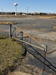 Kevin Adell hopes to turn his vacant land  south of I-96 and west of Novi Road into a bustling entertainment district with hotels, a gym, restaurants, and an indoor skydiving attraction.