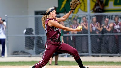 Lebanon standout Tara Trainer has led her team to the state semifinals Friday in Akron.
