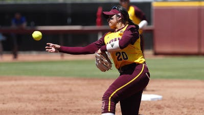 ASU softball second baseman Marisa Stankiewicz has started 109 games as a junior and senior after a slow beginning to her college career. Her father is Grand Canyon baseball coach Andy Stankiewicz and her brother Drew played shortstop for ASU baseball.
