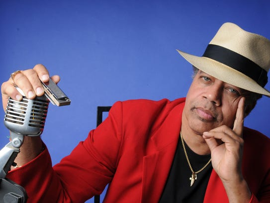 Harmonica player Billy Branch was discovered by and